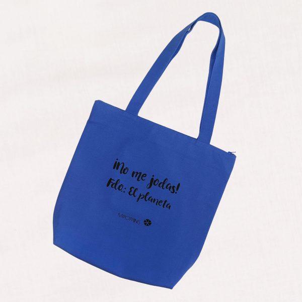 Organic Cotton Bag Planeta Azul