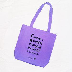 Mipoppins bolsa algodón orgánico mujeres